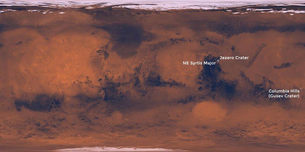 Mars 2020: ecco dove verrà raccolto il primo campione di roccia marziana da riportare sulla Terra