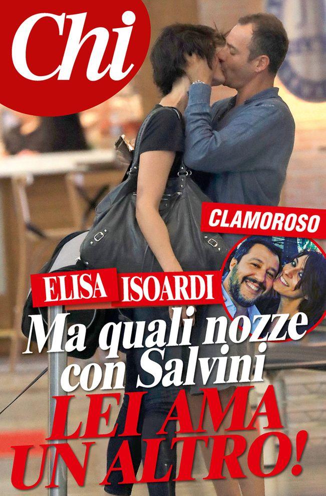 Elisa Isoardi ha tradito Matteo Salvini con l'avvocato Matteo Placidi