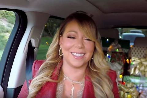 Carpool Karaoke All I want for Christmas is you : Mariah Carey davvero sexy