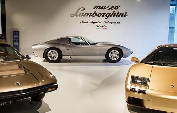 Visita guidata al Museo Lamborghini di Sant'Agata Bolognese il 4 novembre : ecco il programma