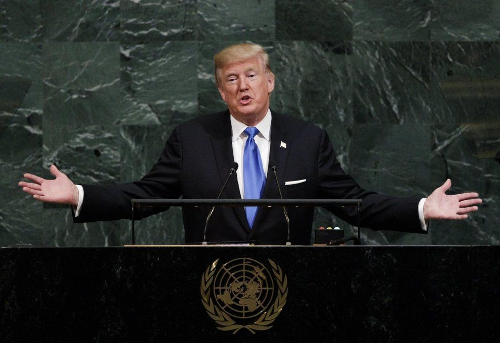 Donald Trump all'Onu : Se Kim attacca distruggeremo la Corea