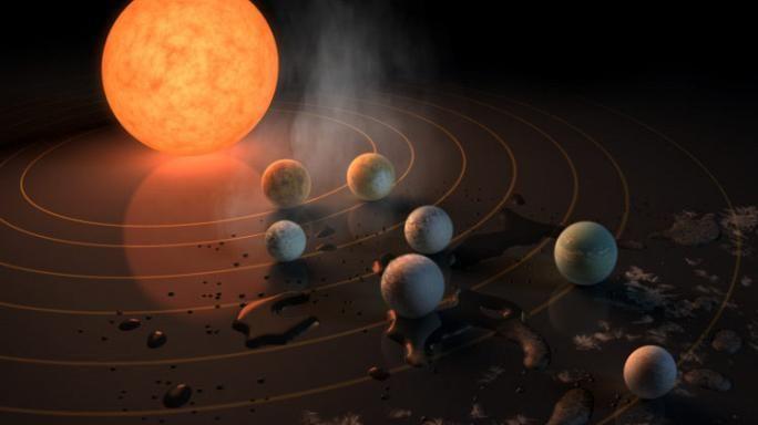 Nasa : scoperti 7 pianeti simili alla Terra