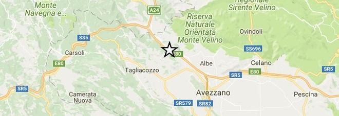 Terremoto nell'Aquilano magnitudo 3.9 avvertito anche a Roma