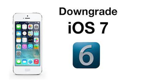 iPhone 4 : Downgrade da iOS 7 a iOS 6.x.x con iFaith