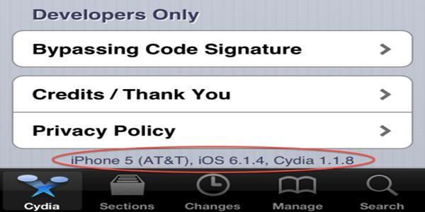 Jailbreak iOS 6.1.4 : Winocm esegue il Jailbreak su un iPhone 5