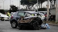 Incidente Roma, schianto nella notte sulla Colombo : Morto un ragazzo 22enne, ferite tre ragazze