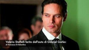 Valerio Staffelli ferito nella consegna del Tapiro a Gabriel Garko