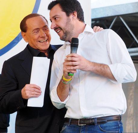 Stasera cena tra Silvio Berlusconi, Matteo Salvini e Giorgia Meloni