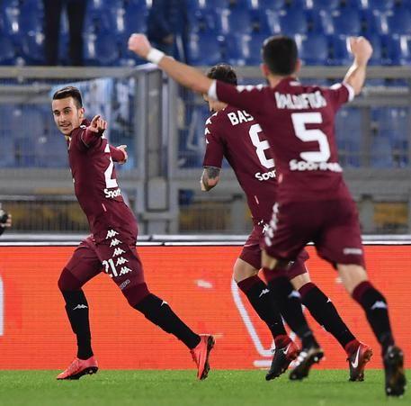Serie A, si ferma anche la Lazio: il Torino espugna l'Olimpico