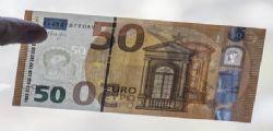 In circolazione nuova banconota da 50 euro