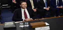 Capo Fbi : Donald Trump ha mentito su di me