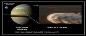 Sempre meno segreti per la grande tempesta di Saturno