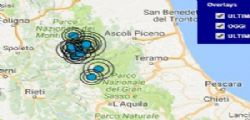 Terremoto Oggi :  Scossa Toscana magnitudo 3.9 a Firenze, Siena, Livorno, Pisa, Pistoia