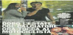 Belen Rodriguez e Andrea Iannone : baci focosi