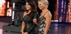 House Party su Canale 5 : Sabrina Ferilli in lacrime dopo la sorpresa di Maria De Filippi