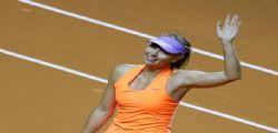 Tennis : Maria Sharapova ha sconfitto l'azzurra Roberta Vinci