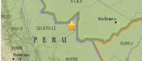 Terremoto Oggi : Scossa magnitudo 7.6 tra Perù e Brasile