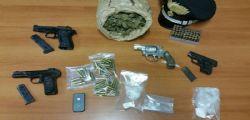 Tivoli : arresti per detenzione armi e droga