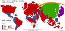 Il mondo del web diviso tra Google e Facebook