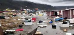 Tsunami in Groenlandia : danni e dispersi terremoto magnitudo 4