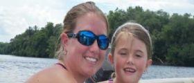 A 5 anni Jayln Rippy muore in gita al fiume: Uno storione salta in barca e la uccide