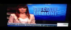 La Corsa al Pisellone : Silvia Nittoli in diretta al TG (Video)
