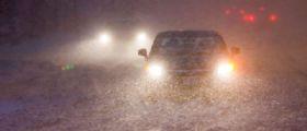 Meteo Maltempo : Il ciclone Attila porterà neve e pioggia su tutta l'Italia