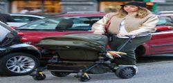 Melissa Satta con il piccolo Maddox in giro per MIlano : Ma è infuriata su Instagram