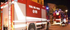 Incendio in un appartamento a Osimo : Grave una donna 55enne e tre bimbi in ospedale