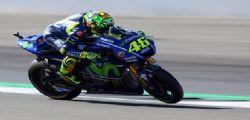 Valentino Rossi sarà in pista al MotoGp Aragon