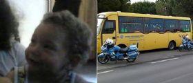 Caserta : La piccola Rosa Di Biase investita e uccisa da uno scuolabus