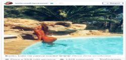 Belen Rodrighez su Instagram esce dalla piscina e il lato b è da urlo