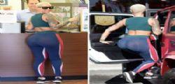 Amber Rose in leggings... Curve sexy mozzafiato - Video