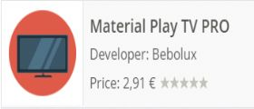 Material Play TV: Guardare la Tv sul dispositivo Android grazie a un app