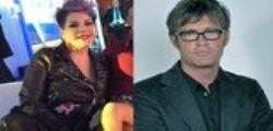 Lite a Domenica Live per Lemme : Schiaffo di Manuela Villa a Filippo Facci
