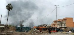 Civili fuggono Mosul : l