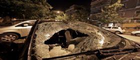 Roma : Un blocco di ghiaccio di 20 chili cade dal cielo e distrugge un