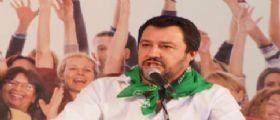 Matteo Salvini contro il Premier Matteo Renzi
