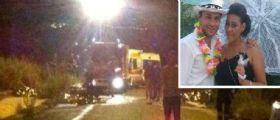 Incidente a Paternò : Due moto si scontrano, 4 ragazzi morti