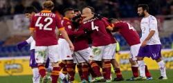 Roma-Fiorentina Streaming Diretta Partita e Online Gratis Serie A