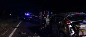 A Lecce schianto tra tre auto statale 275  : tre morti e due feriti, anche bimba di 4 anni