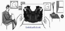 Google Doodle : test di Rorschach , tu cosa vedi?