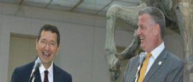 Il sindaco di New York Bill De Blasio difende Ignazio Marino!