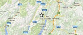 Terremoto Trentino: Scossa di magnitudo 3.7 avvertita da Trento a Riva del Garda