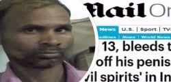 India : Evira il figlio 13enne e lo lascia morire dissanguato