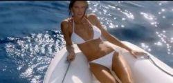 Bianca Balti e David Gandy super-sexy nello spot davanti ai Faraglioni di Capri