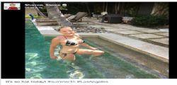 Sharon Stone splendida in bikini a 58 anni
