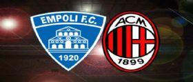Partita Oggi Serie A Tim | Oggi 23 settembre 2014 | Empoli-Milan | Orari e quote