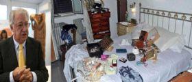 Giorgio Palesa rapinato per la terza volta in casa : Lascio mille euro per loro nella cassetta