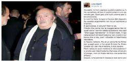 Lino Banfi su Facebook : Ho fatto solo il mio lavoro